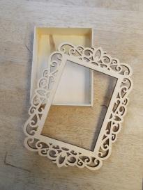 blog box frame